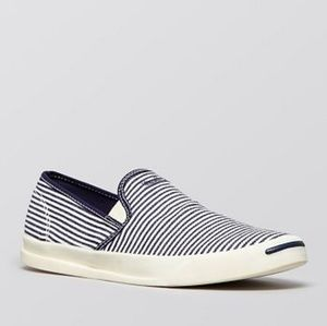 Converse Jack Purcell Jeffrey Stripe Slip-O